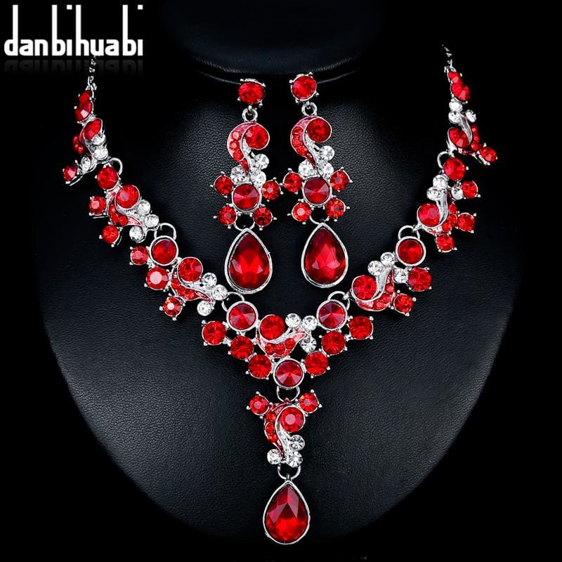 Exquisite Bridal Wedding Jewelry Sets-JEWELRY SETS-US MART NEW YORK