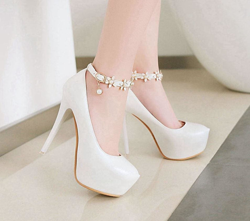 Extreme High Heels Thin with Buckle HIGH HEELS