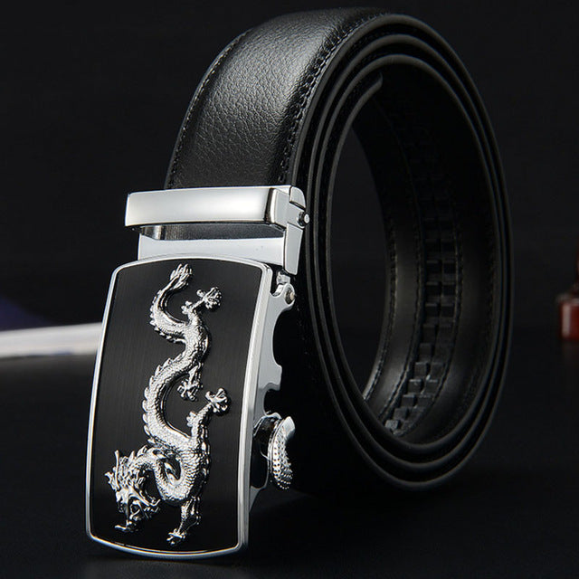 IFENDEI Luxury Designer Belts Men High Quality Genuine Leather Men's Belt Fashion Dragon Ceinture Buckle Belt Cinturones Hombre-MEN WAIST STRAP BELT-US MART NEW YORK