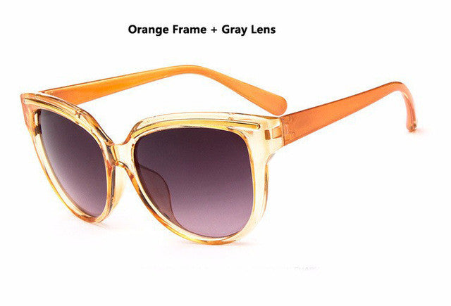 DIGUYAO Sunglasses Women Fashion Cat Eye Frame Mirror Sun Glasses Flat men Sunglasses UV400-WOMEN SUNGLASSES-US MART NEW YORK