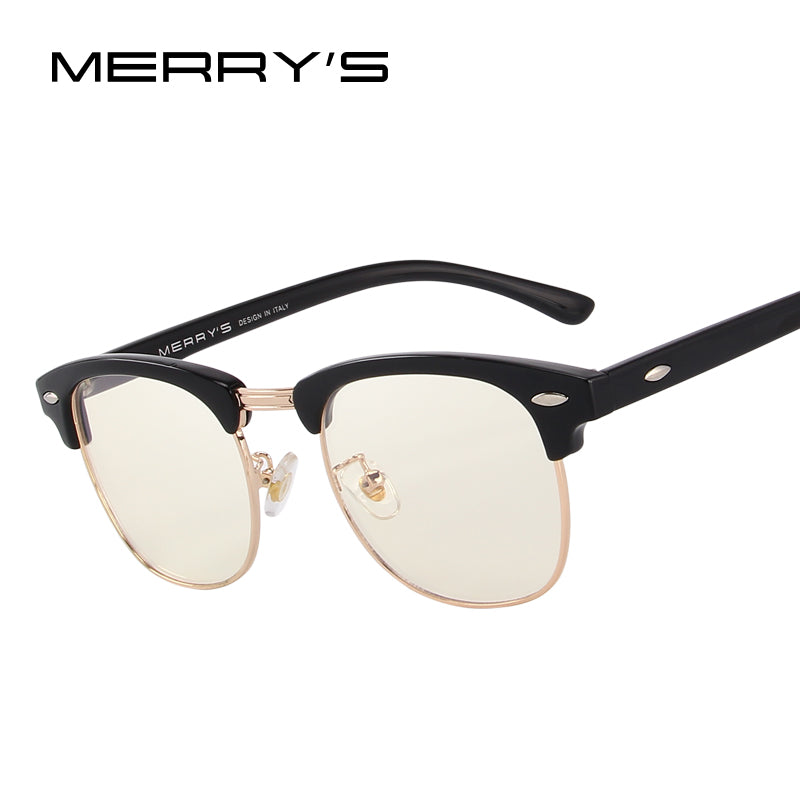 MERRY'S Anti Blue Rays Computer Goggles Reading Glasses 100% UV400 Radiation-resistant Computer Gaming Glasses-WOMEN SUNGLASSES-US MART NEW YORK