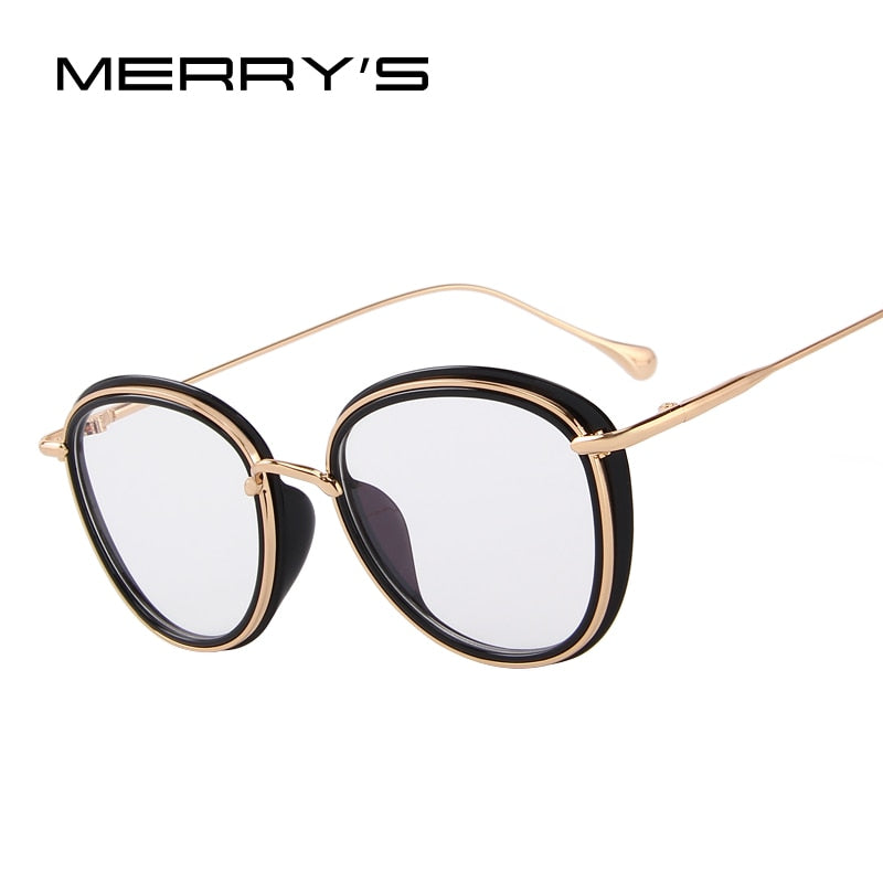 MERRY'S DESIGN Women Retro Cat Eye Optical Frames Eyeglasses Classic Glasses-WOMEN SUNGLASSES-US MART NEW YORK
