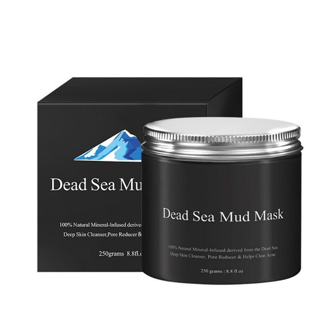 250g Pure Body Naturals Beauty Dead Sea Mud Mask For Facial Treatment-BEAUTY-US MART NEW YORK