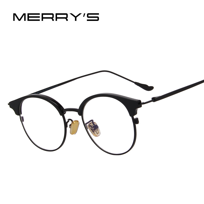 MERRY'S DESIGN Women Retro Cat Eye Optical Frames Eyeglasses-WOMEN SUNGLASSES-US MART NEW YORK