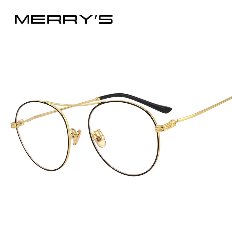 MERRY'S DESIGN Men/Women Fashion Oval Optical Frames Eyeglasses-WOMEN SUNGLASSES-US MART NEW YORK