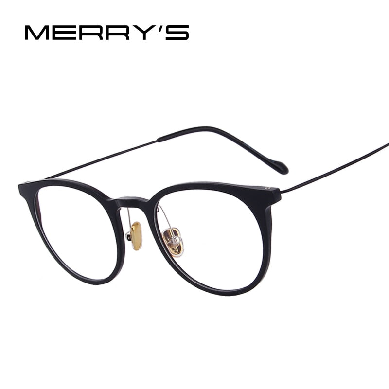 MERRY'S DESIGN Women Retro Cat Eye Ultralight Eyeglasses Radiation-resistant Computer Optical Glasses-WOMEN SUNGLASSES-US MART NEW YORK