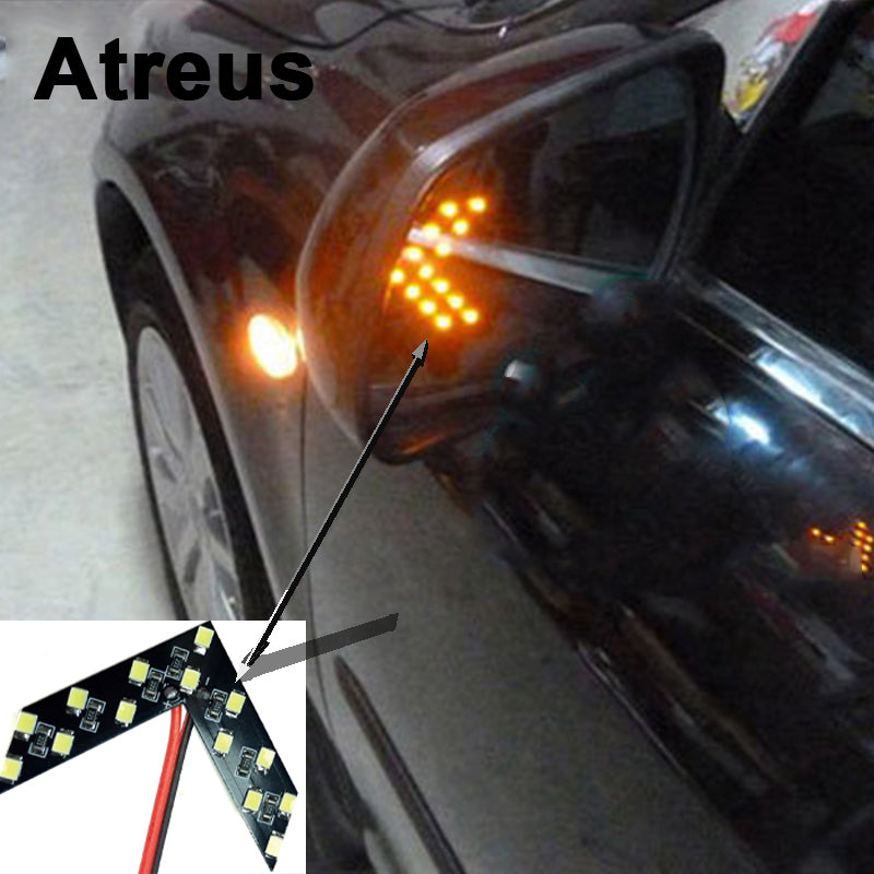 2pcs Car-styling Turning Signal Indicator Light For Bmw e46 e39 e60 e90 Ford focus 2 3 h7 led Volkswagen Passat b5 b6 golf 4 vw-Auto Accessories-US MART NEW YORK