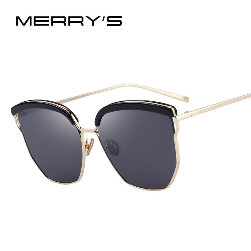 MERRY'S DESIGN Women Classic Cat Eye Sunglasses 100% UV Protection-WOMEN SUNGLASSES-US MART NEW YORK