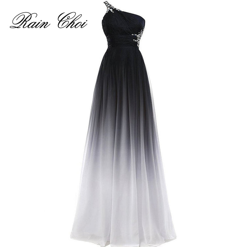 Elegant Evening Dress Purple Formal Prom Dresses Black Party Dress Blue Long Evening Gowns-Dresses-US MART NEW YORK