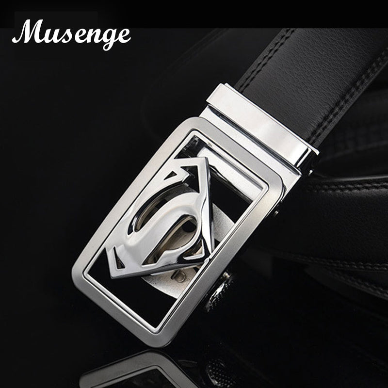 Musenge Male Genuine Leather Designer Belts Men High Quality Men's Belt Luxury Automatic Buckle Belts For Men Cinturones Hombre-MEN WAIST STRAP BELT-US MART NEW YORK