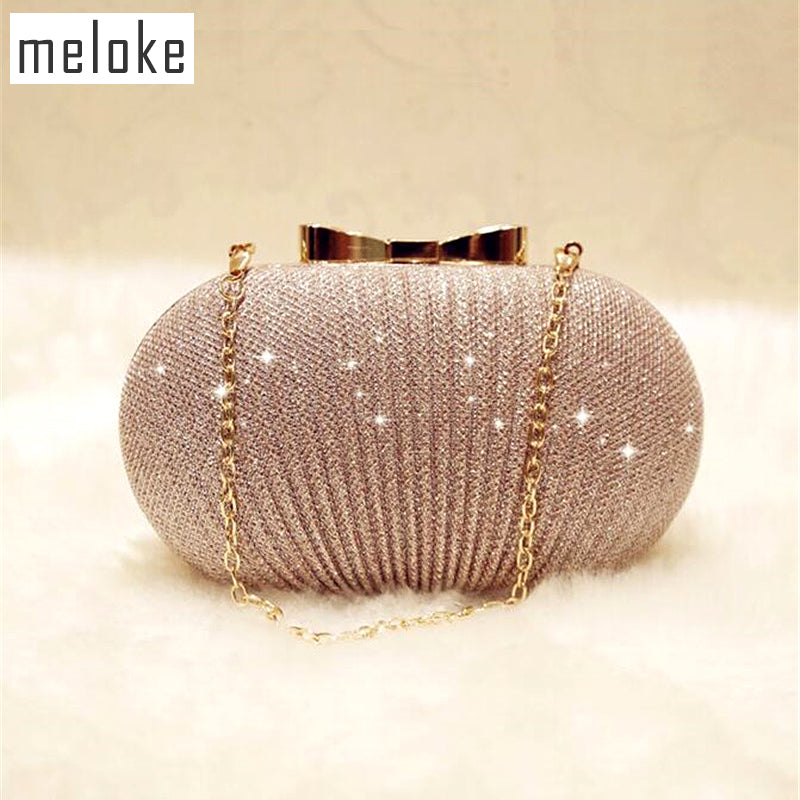Bling evening bags luxury folds banquet bags sequin wedding dinner bags for girls party dinner bags-HANDBAGS-US MART NEW YORK