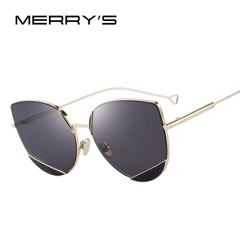 MERRY'S DESIGN Women Classic Fashion Cat Eye Sunglasses UV400 Protection-WOMEN SUNGLASSES-US MART NEW YORK