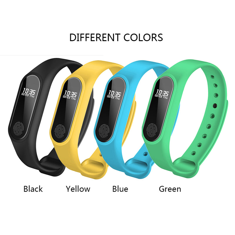 IP67 Smart Wristband Smart watch OLED Touch Screen BT 4.0 Bracelet Fitness Tracker Heart Rate / Sleep Monitoring Pedometer