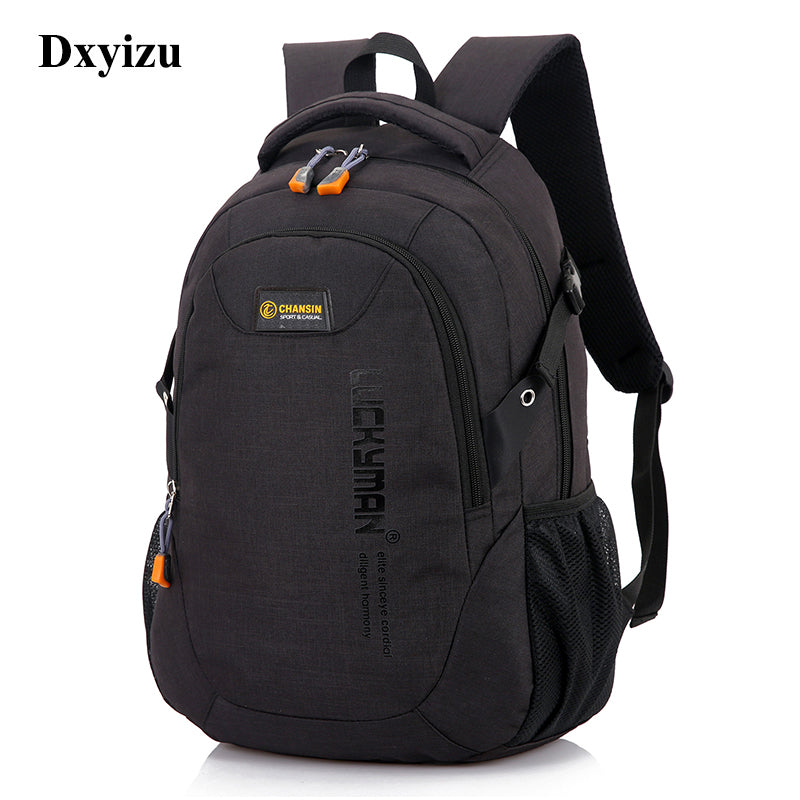 Unisex School Bag Waterproof Nylon Brand New Schoolbag Business Men Women Backpack Polyester Bag Shoulder Bags Computer Packsack-Luggage-US MART NEW YORK