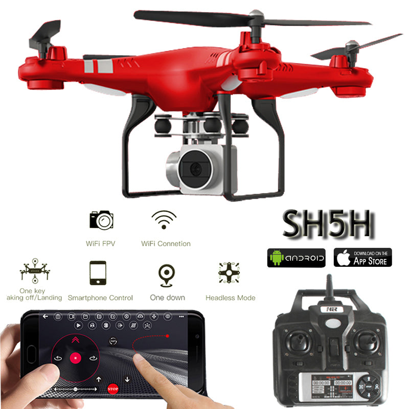SH5H Quadcopter FPV Drones With Camera HD Quadcopter With WIFI Camera RC Helicopter Remote Control Toys