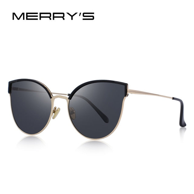 MERRY'S DESIGN Women Brand Designer Cat Eye Polarized Sunglasses UV400 Protection-WOMEN SUNGLASSES-US MART NEW YORK