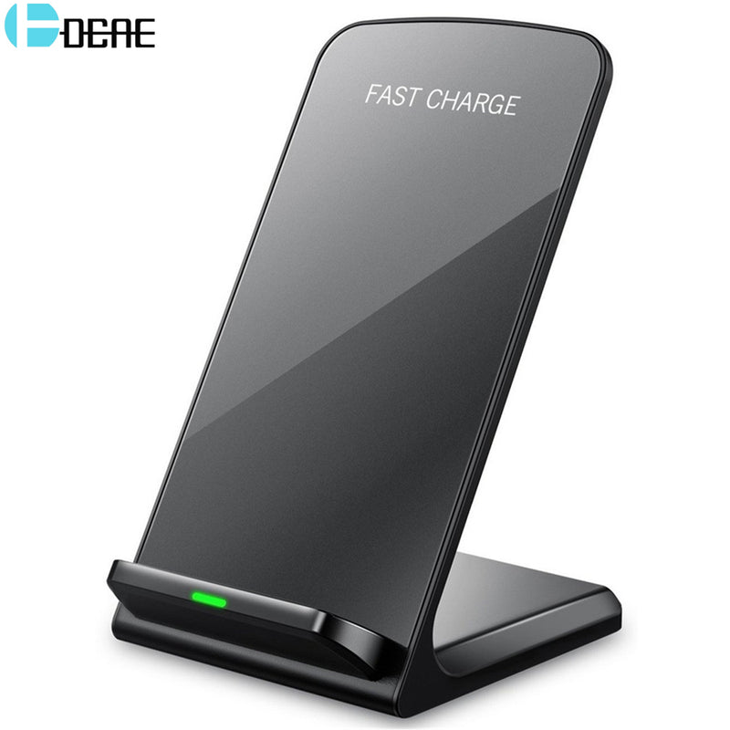 DCAE Universal Qi Fast Wireless Charger For iPhone X 10 8 Plus Charger USB 10W Power Charging For Samsung Galaxy S8 S9 Note 8-Cell Phone Accessories-US MART NEW YORK