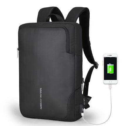 Mark Ryden Men Backpack Business Multifunctional USB Recharging 15 inch Laptop Backpack Water Resistant Backpack-Computers and Accessories-US MART NEW YORK