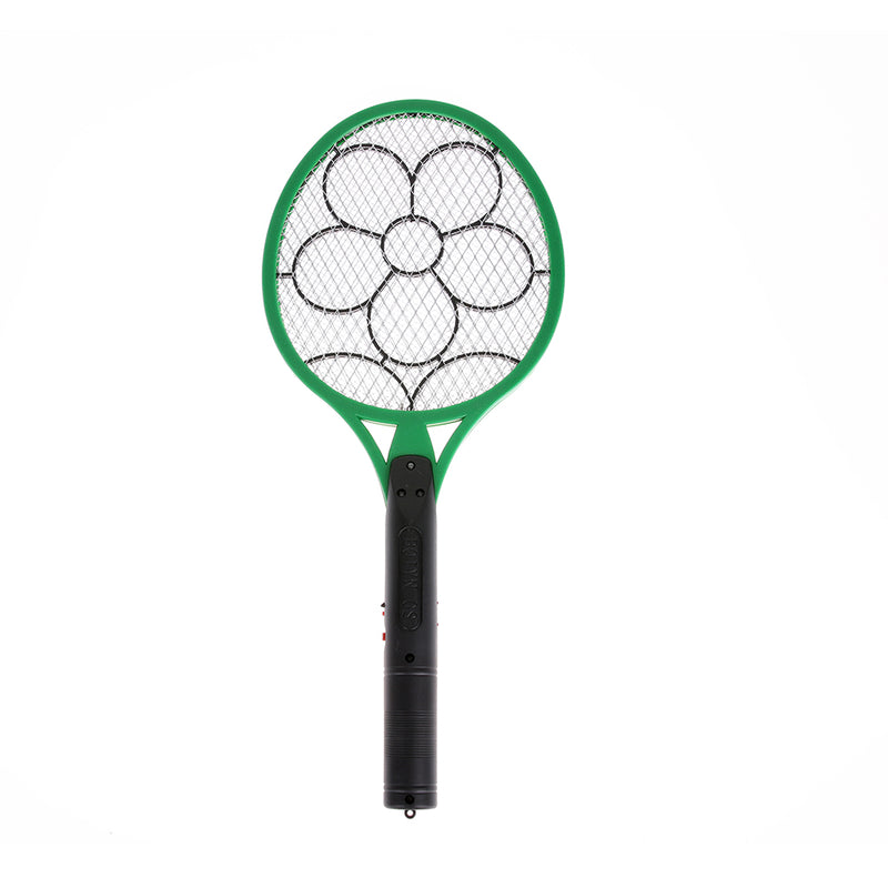 Electric Insect Pest Fly Mosquito Swatter Killer Rechargeable Hand Racket Electric Swatter Home Garden Insect Wasp Pest Control-Kitchen Helpers-US MART NEW YORK