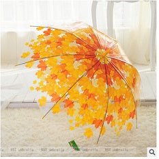 2018 Fashion Tree Shade Umbrella Rain Women Long Handle Umbrella PVC Umbrella Transparent Umbrella-UMBRELLA-US MART NEW YORK