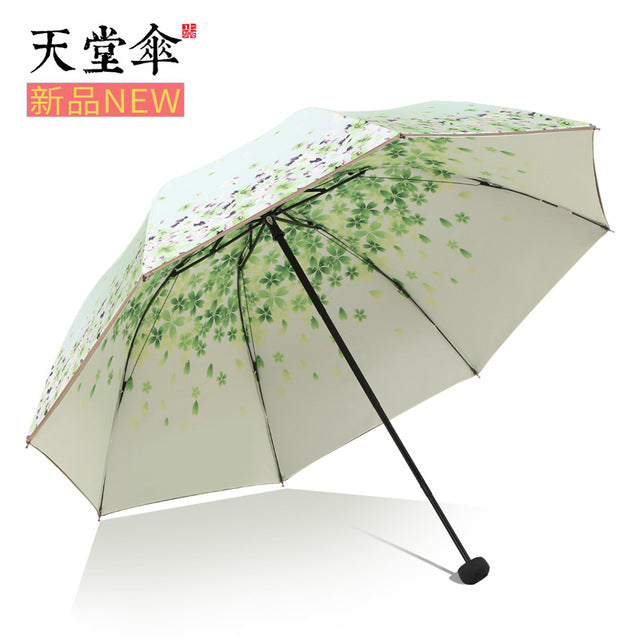 Black glue, sunscreen, anti ultraviolet, double deck sun umbrella-UMBRELLA-US MART NEW YORK