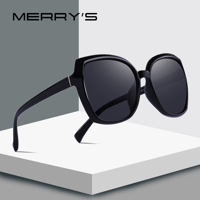 MERRY'S DESIGN Women Fashion Cat Eye Sunglasses Lady Polarized Driving Sun Glasses 100% UV Protection-WOMEN SUNGLASSES-US MART NEW YORK