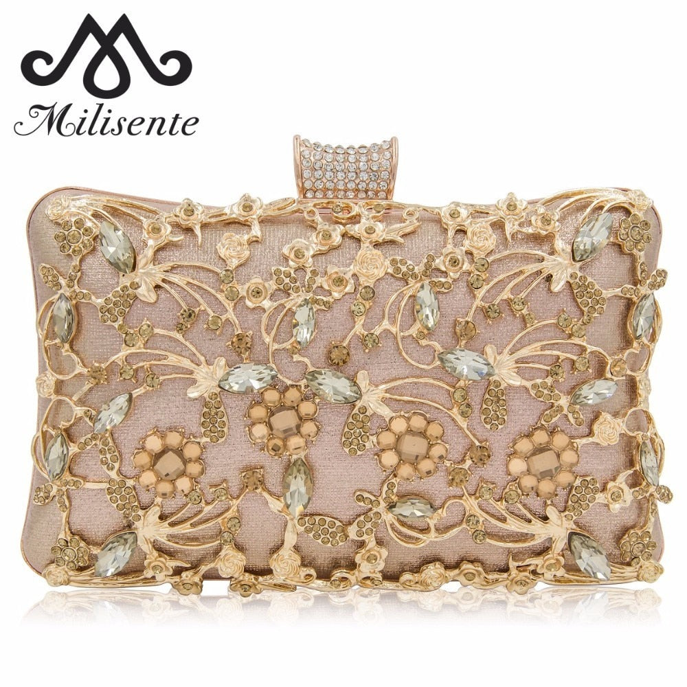 New Box Clutches Women Clutch Purse Top Quality-WEDDING PURSE-US MART NEW YORK