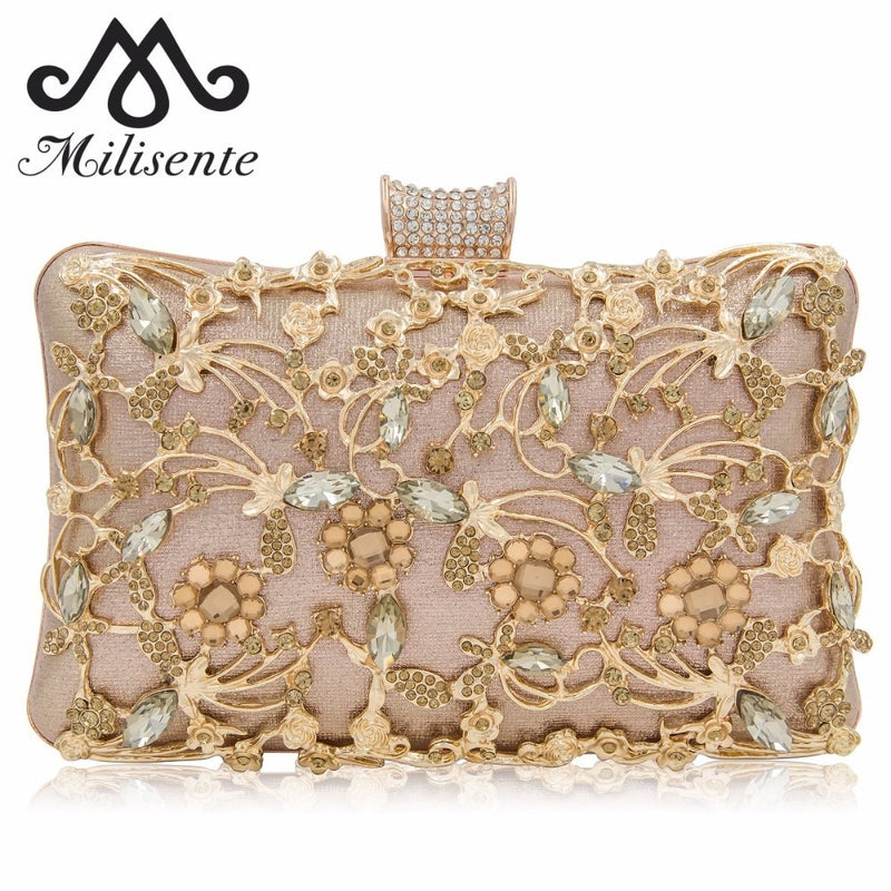 New Box Clutches Women Clutch Purse Top Quality