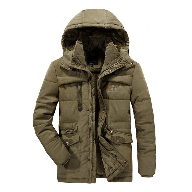 Men Thicken Warm Cotton-Padded Jackets-JACKETS-US MART NEW YORK