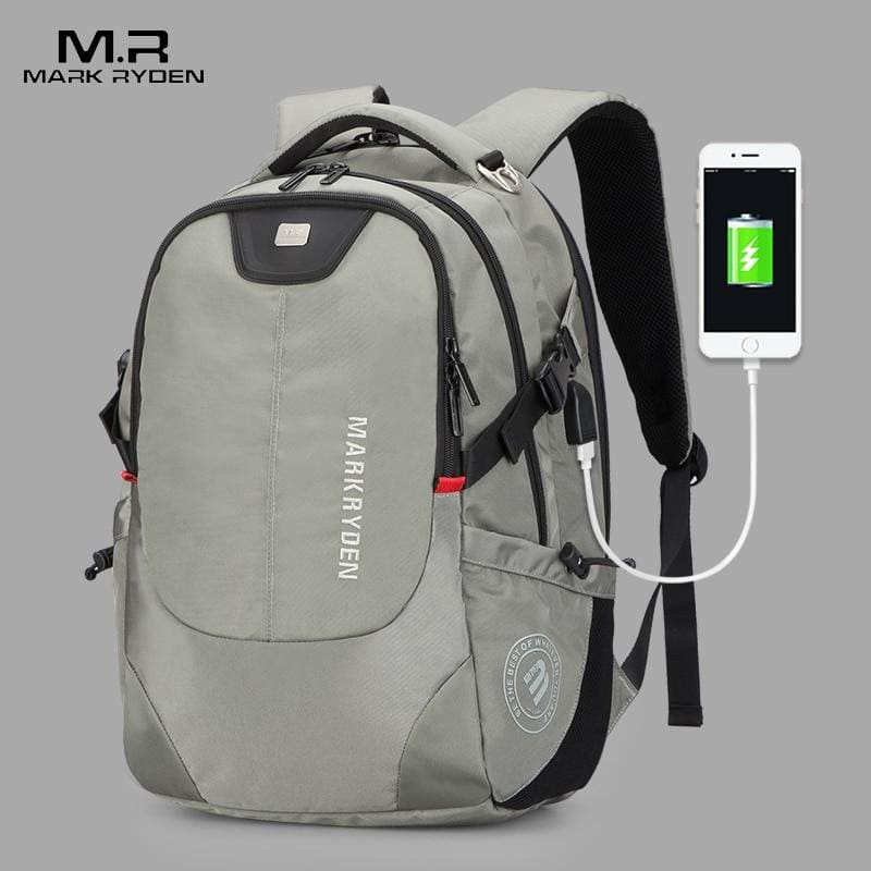 USB Charging Men 15inch Laptop Backpacks-Luggage-US MART NEW YORK