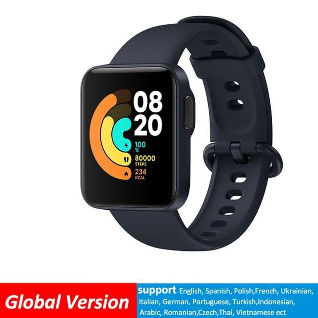 Xiaomi Mi Lite Bluetooth Smart Watch GPS 5ATM Waterproof Global-Blue SMART WATCHES
