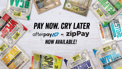 After Pay and Zip Pay Available