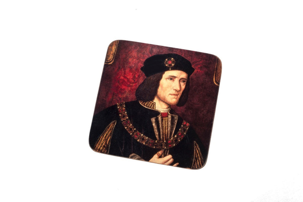Red portrait coaster
