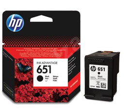 HP 651 Black Original Ink Advantage Cartridge C2P10AE - Dotrapid.com