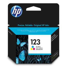 HP 123 Tri-color Original Ink Cartridge F6V16AE - Dotrapid.com