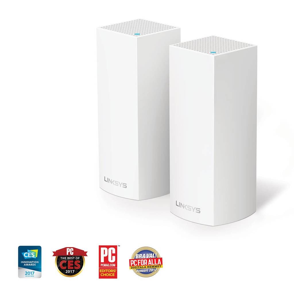Linksys VELOP Whole Home Mesh Wi-Fi System (Pack of 2) - Dotrapid.com