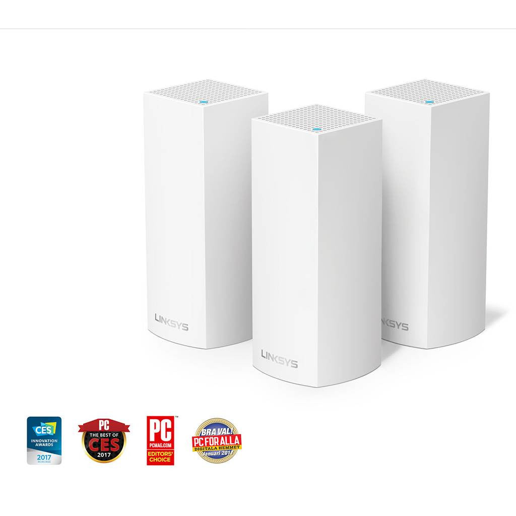 Linksys VELOP Whole Home Mesh Wi-Fi System (Pack of 3) - Dotrapid.com