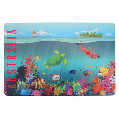 The Australian Collection - Placemat - Reef - Artock Australia
