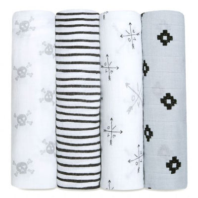 Aden and Anais - lovestruck 4 PACK CLASSIC SWADDLE - Artock Australia
