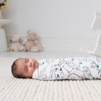 Aden and Anais - colour pop classic 4-pack muslin swaddle - Artock Australia