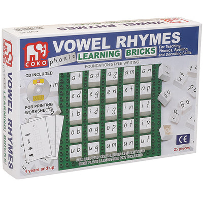 COKO Vowel Rhymes Set of 25 - COKO - Artock Australia