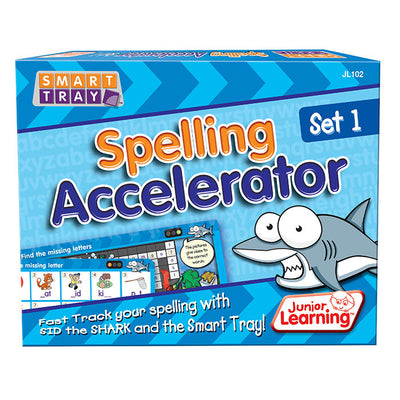 Smart Tray® Spelling Accelerator Cards Set 1 - Junior Learning - Artock Australia