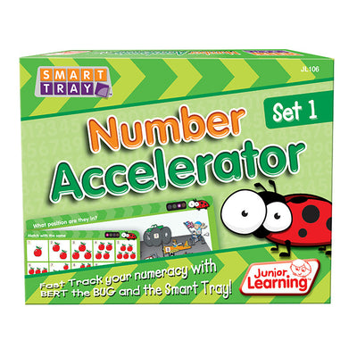 Smart Tray® Number Accelerator Set 1 - Junior Learning - Artock Australia