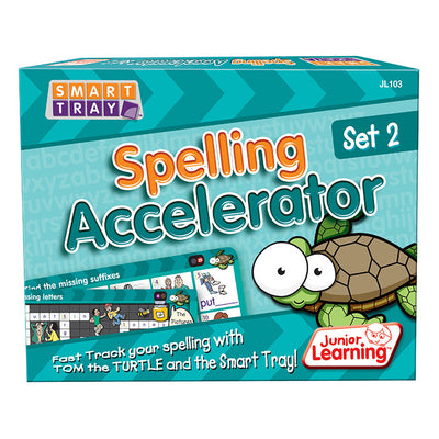 Smart Tray® Spelling Accelerator Set 2 - Junior Learning - Artock Australia