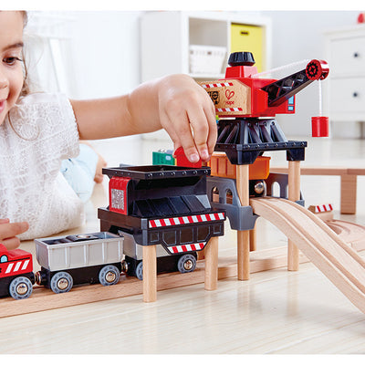 Hape - Lift and Load Mining Play Set - Artock Australia