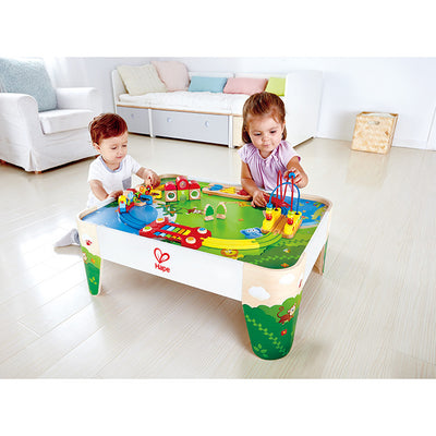 Hape - Railway Play Table - Artock Australia