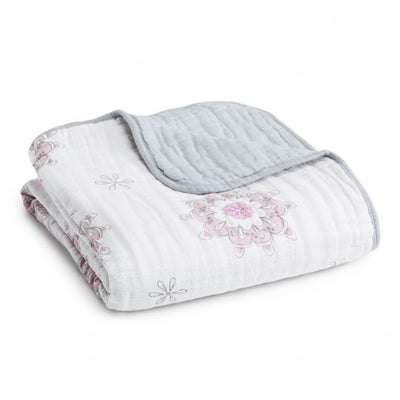 Aden and Anais - for the birds - medallions classic muslin dreamblanket - Artock Australia
