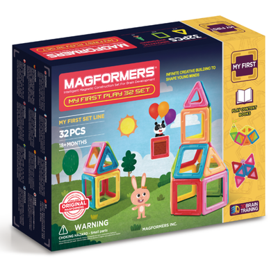 My First Play 32 Set - Magformers - Artock Australia