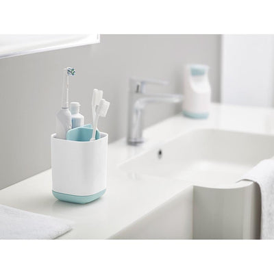 Joseph Joseph - Easy-Store Toothbrush Caddy - Blue/White - Artock Australia