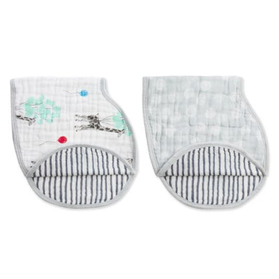 Aden and Anais - dream ride classic burpy bibs 2 pack - Artock Australia